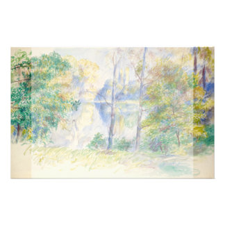 View of a Park by Pierre-Auguste Renoir Flyer