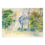 View of a Park by Pierre-Auguste Renoir Custom Invite