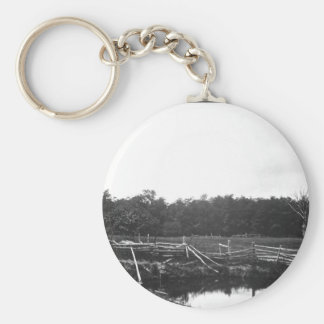 View of a portion of the Gettysburg_War Image Keychain