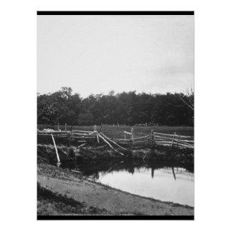 View of a portion of the Gettysburg_War Image Poster