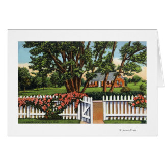 View of a Quaint Residence Card