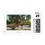 View of a Quaint Residence Postage