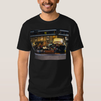 View of a resturant tee shirt