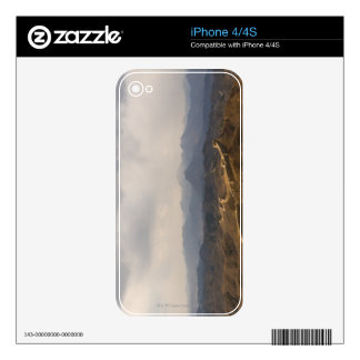View of a section of the Great Wall of China Skin For iPhone 4