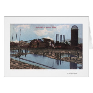 View of a Slade Mill Card