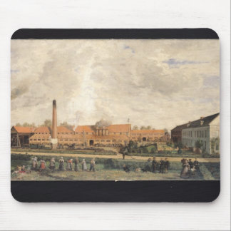 View of a Sugar Factory Mouse Pad