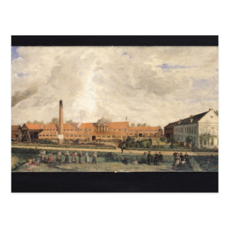 View of a Sugar Factory Postcard
