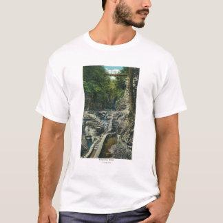 View of a Suspension Bridge T-Shirt
