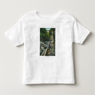 View of a Suspension Bridge Toddler T-shirt