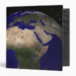 View of Africa, Europe, the Middle East, and In 3 Ring Binder