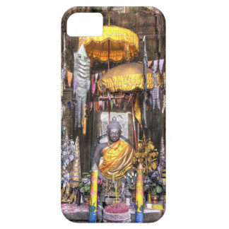 View of altar area inside Buddhist temple, iPhone 5 Cases