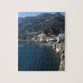 View of Amalfi coast Jigsaw Puzzle