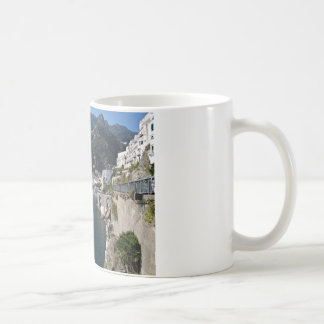 View of Amalfi coast Classic White Coffee Mug