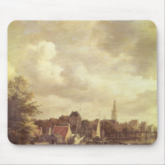 View of Amsterdam Mouse Pad