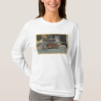 "View of an ""Old Papeete"" Engine T-Shirt"