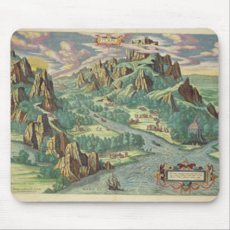 View of antique Thessaly from the 'Atlas Mouse Pad