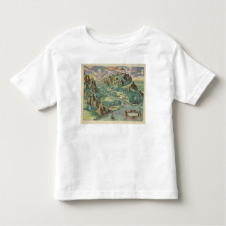 View of antique Thessaly from the 'Atlas T-shirt