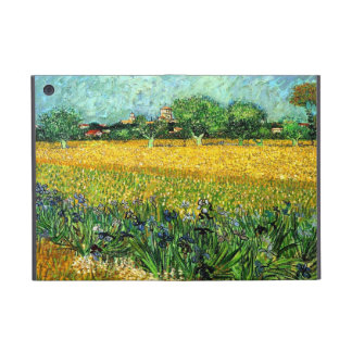 View of Arles with Irises in the Foreground iPad Mini Cover