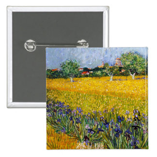 View of Arles with Irises Vincent van Gogh paint Pins