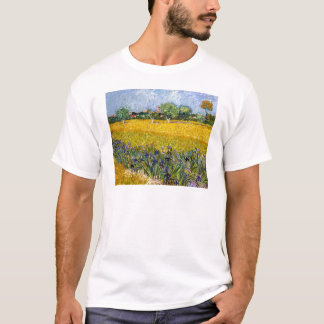 View of Arles with Irises Vincent van Gogh paint T-Shirt
