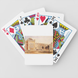 View of Arsenal Museum by Rudolf von Alt Bicycle Playing Cards