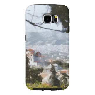 View of Athens from high above Samsung Galaxy S6 Case