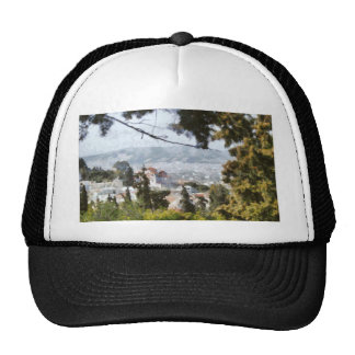 View of Athens from high above Trucker Hat