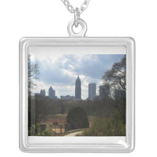 View of Atlanta from Botanical Gardens Necklace