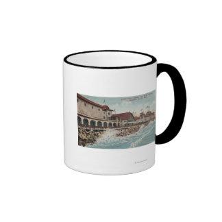 View of Auditorium, Casino, & Bath House Coffee Mugs