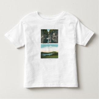 View of Ausable Chasm and Saranac Lake Tee Shirts