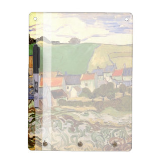 View of Auvers by Van Gogh Dry-Erase Board