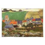 View of Auvers Vincent van Gogh. Place Mat