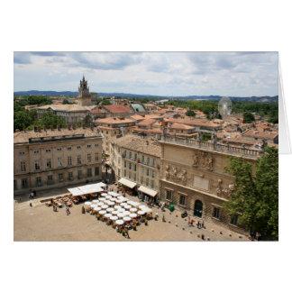 View of  Avignon Card