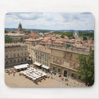 View of Avignon Mouse Pads