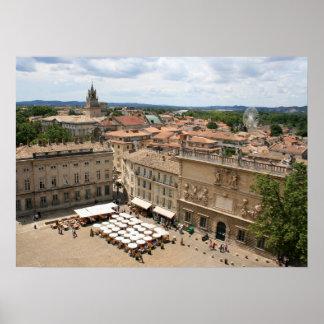 View of Avignon Poster