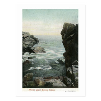 View of Bakers Island, Whales Gulch Postcard