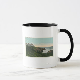 View of Bald Head Cliff & Exterior of Cliff Hous Mug