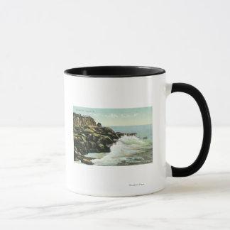 View of Bald Head Cliff Mug