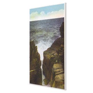 View of Bald Head Cliffs, the Gorge Canvas Print