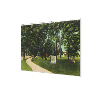 View of Battle Ground now Lexington Green Stretched Canvas Prints