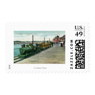 View of Bay Shore UnlimitedSanta Cruz, CA Postage