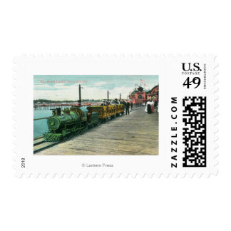 View of Bay Shore UnlimitedSanta Cruz, CA Stamps