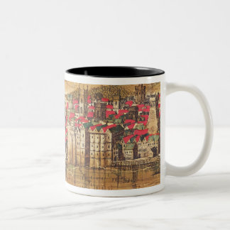 View of Baynards Castle Two-Tone Coffee Mug
