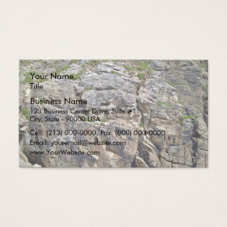 View of Beautiful Mountain with small bushes Business Card