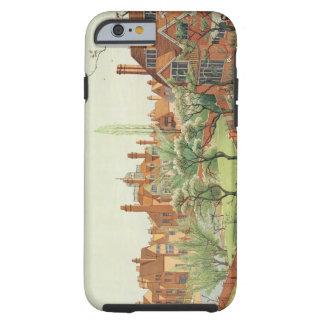 View of Bedford Park, 1882 (colour litho) 2 Tough iPhone 6 Case