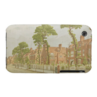 View of Bedford Park, 1882 (colour litho) Case-Mate iPhone 3 Case