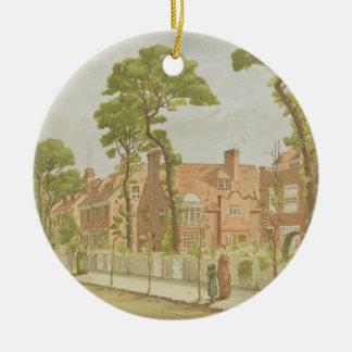 View of Bedford Park, 1882 (colour litho) Ceramic Ornament