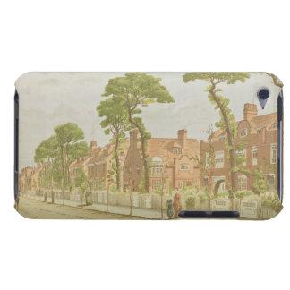 View of Bedford Park, 1882 (colour litho) iPod Case-Mate Case
