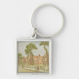 View of Bedford Park, 1882 (colour litho) Key Chain