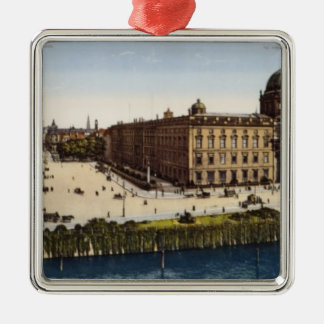 View of Berlin at the turn of the century Metal Ornament